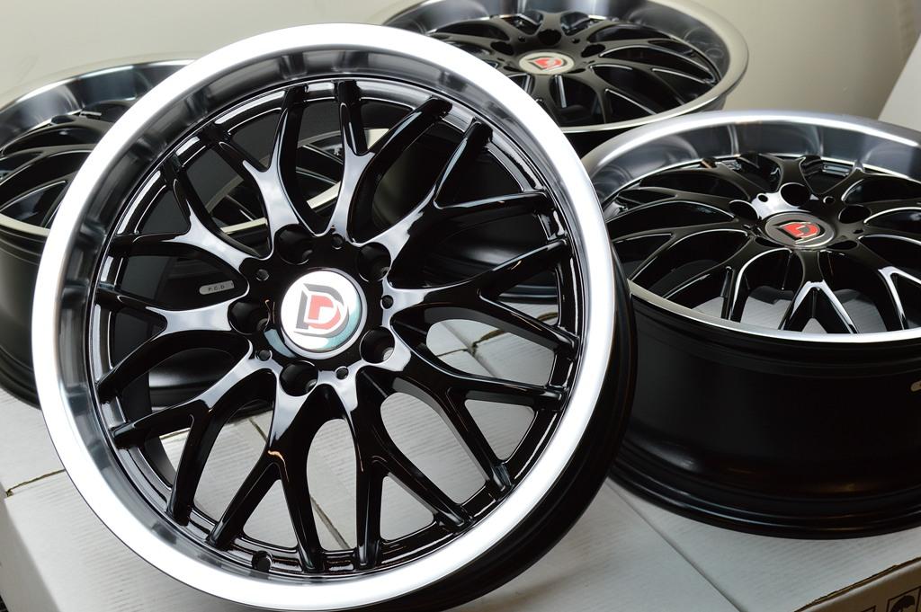17 Black Wheel Rim Honda Civic Accord Acura Integra TSX Mazda 3 5 6 Speed Altima